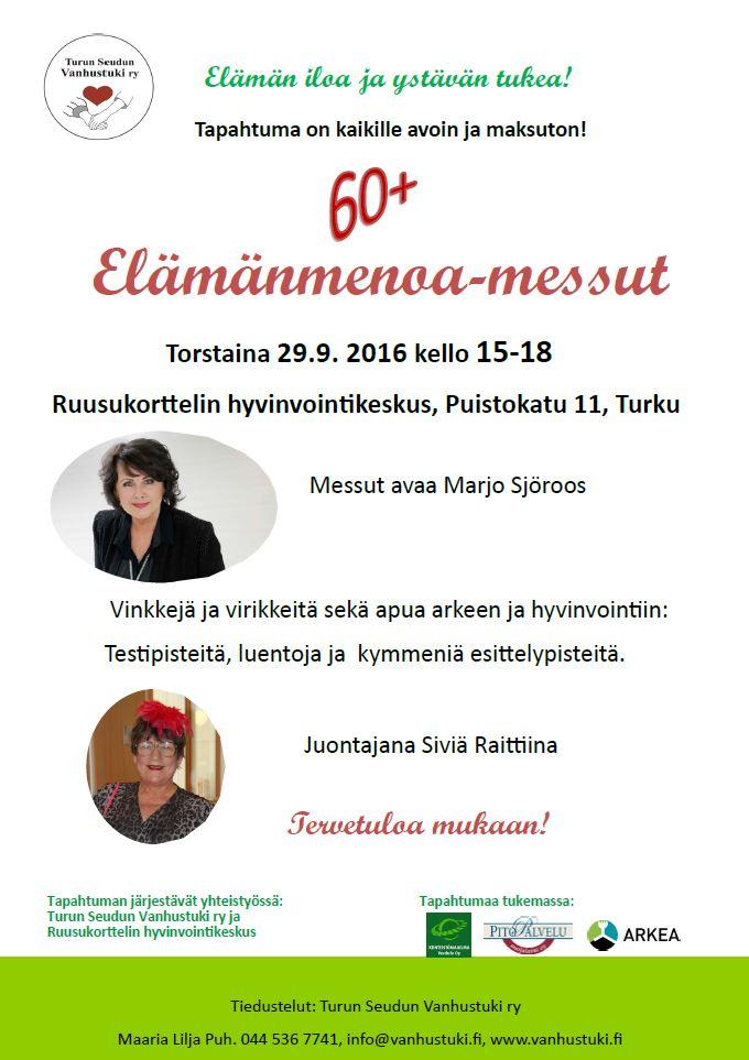 Tervetuloa tutustumaan messutarjontaan. Olemme paikalla yhteistyössä Suomen Tinnitusyhdistyksen kanssa.